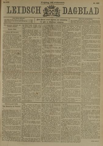 Leidsch Dagblad 1907-02-22