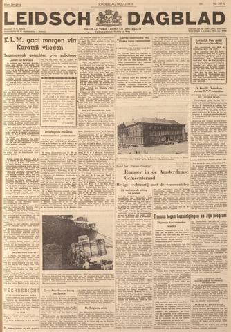 Leidsch Dagblad 1949-07-14