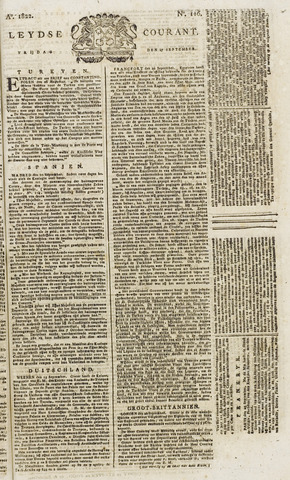 Leydse Courant 1822-09-27