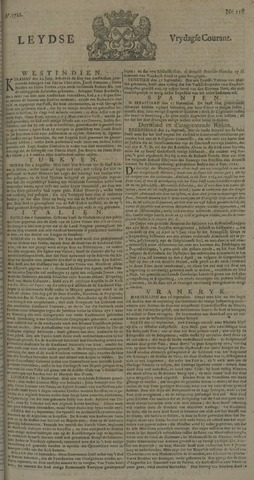 Leydse Courant 1722-10-02