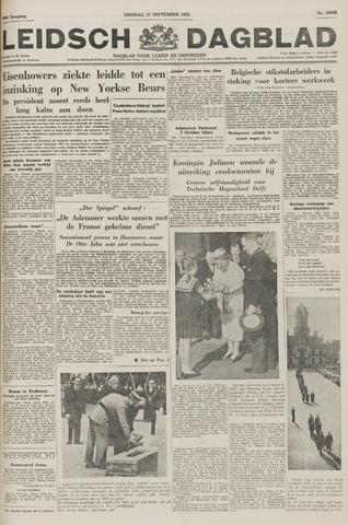 Leidsch Dagblad 1955-09-27