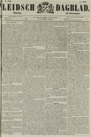 Leidsch Dagblad 1870-11-15