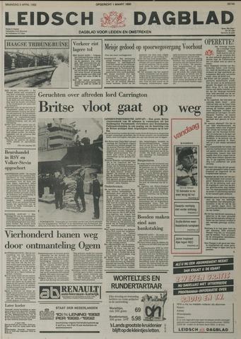 Leidsch Dagblad 1982-04-05