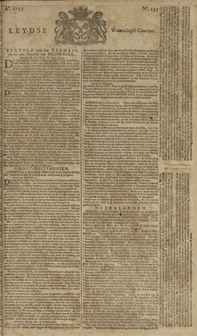 Leydse Courant 1755-11-19