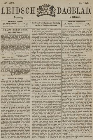Leidsch Dagblad 1876-02-05