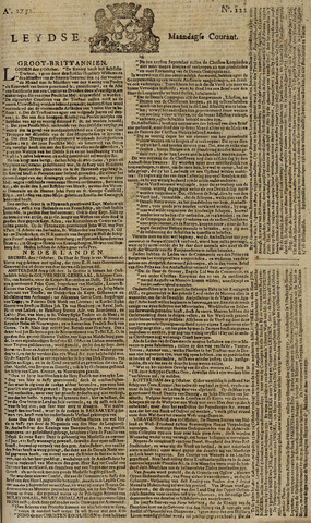 Leydse Courant 1751-10-11
