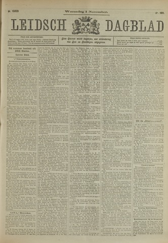 Leidsch Dagblad 1911-11-01