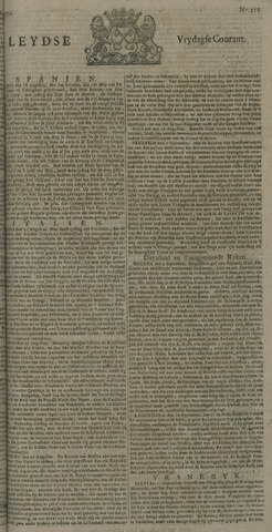 Leydse Courant 1722-09-18