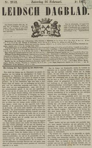 Leidsch Dagblad 1867-02-16