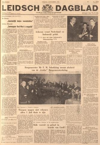 Leidsch Dagblad 1949-11-04