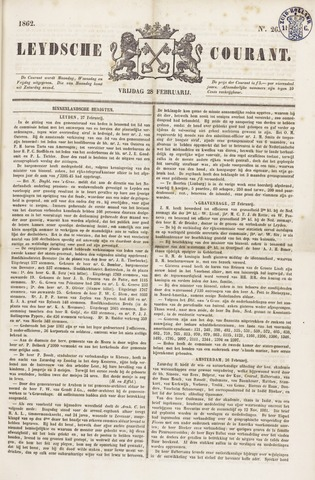 Leydse Courant 1862-02-28