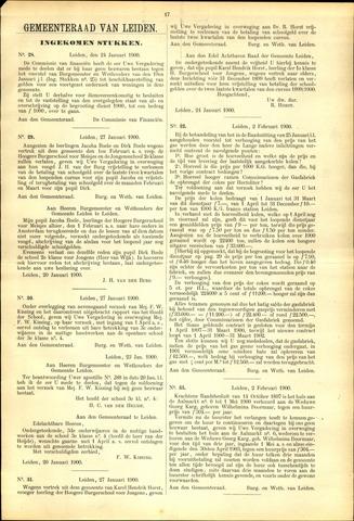Handelingen van de Raad 1900-01-24