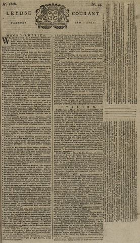 Leydse Courant 1808-04-11
