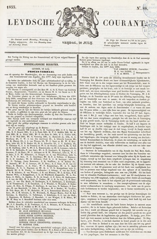 Leydse Courant 1855-07-20