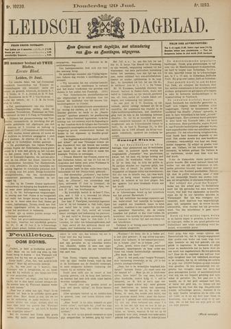 Leidsch Dagblad 1893-06-29