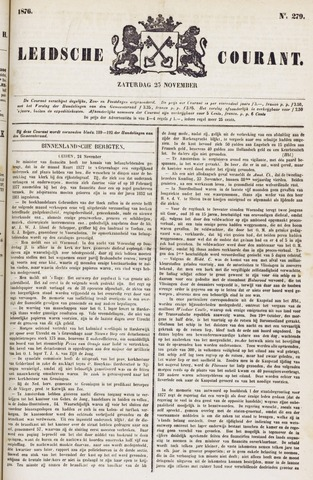 Leydse Courant 1876-11-25