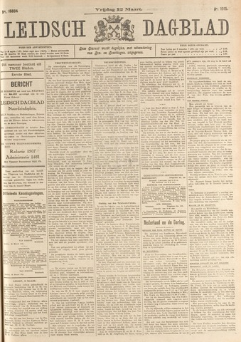 Leidsch Dagblad 1915-03-12