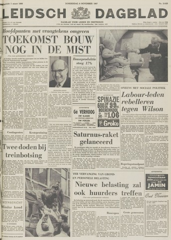Leidsch Dagblad 1967-11-09