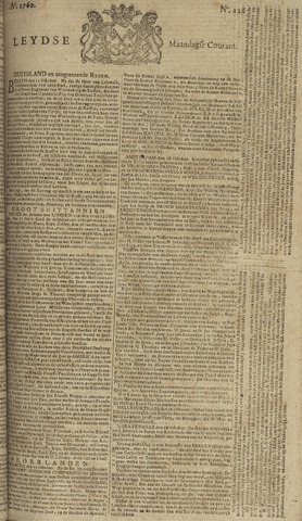 Leydse Courant 1760-10-20