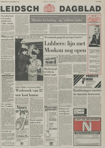 Leidsch Dagblad 1985-11-13