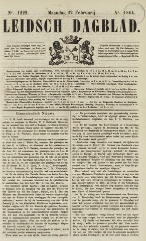 Leidsch Dagblad 1864-02-22