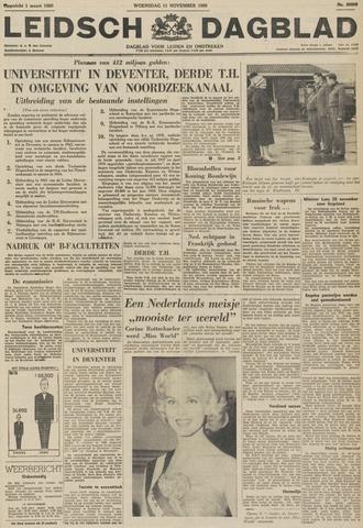 Leidsch Dagblad 1959-11-11