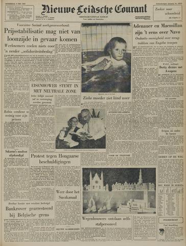 Nieuwe Leidsche Courant 1957-05-09