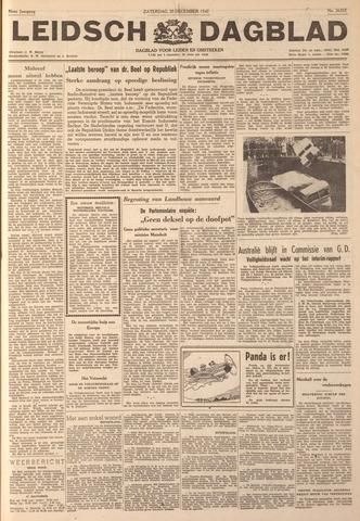 Leidsch Dagblad 1947-12-20