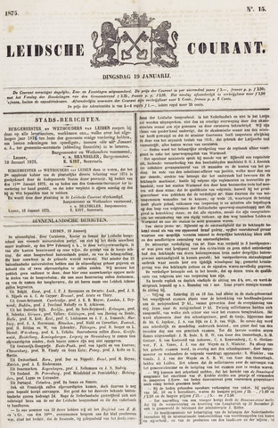 Leydse Courant 1875-01-19