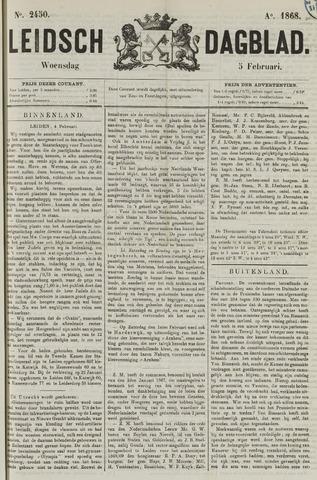 Leidsch Dagblad 1868-02-05