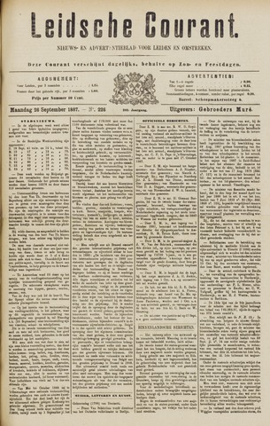 Leydse Courant 1887-09-26