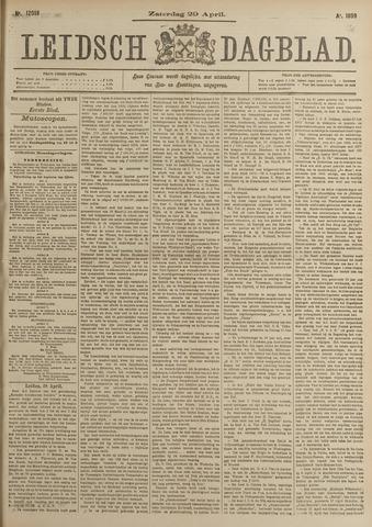 Leidsch Dagblad 1899-04-29