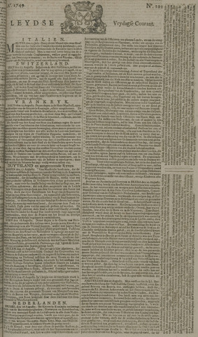 Leydse Courant 1749-08-22