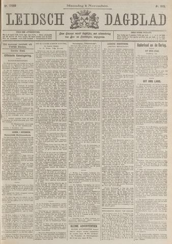 Leidsch Dagblad 1915-11-01