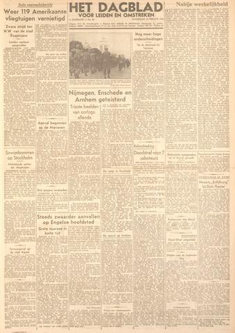 Dagblad voor Leiden en Omstreken 1944-02-24