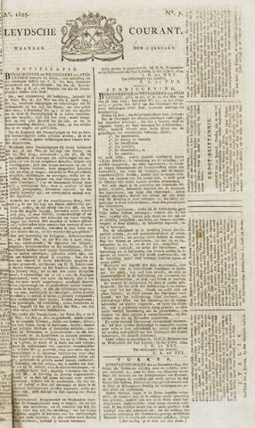 Leydse Courant 1825-01-17