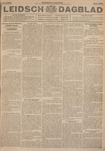 Leidsch Dagblad 1926-08-02