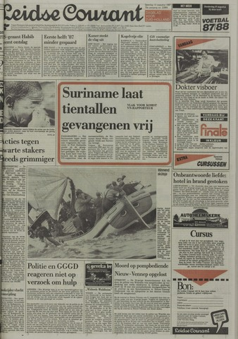 Leidse Courant 1987-08-15