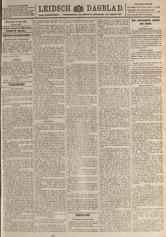 Leidsch Dagblad 1921-06-15