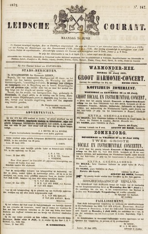 Leydse Courant 1872-06-24