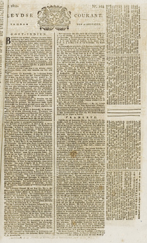 Leydse Courant 1822-08-30