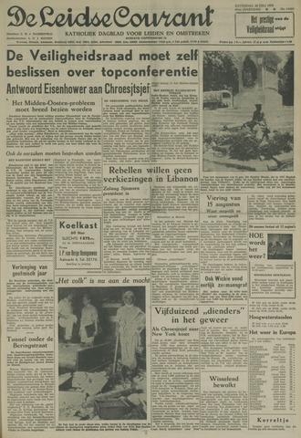 Leidse Courant 1958-07-26