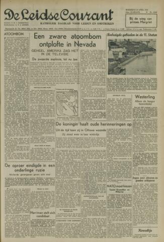 Leidse Courant 1952-04-23