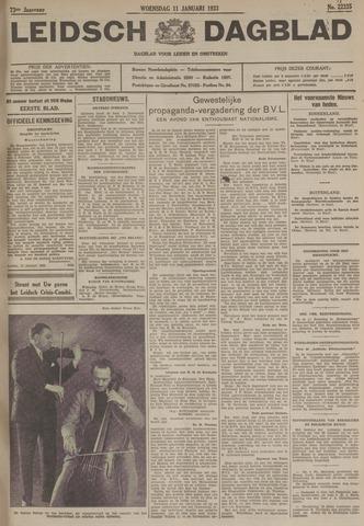 Leidsch Dagblad 1933-01-11