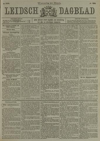Leidsch Dagblad 1909-03-10