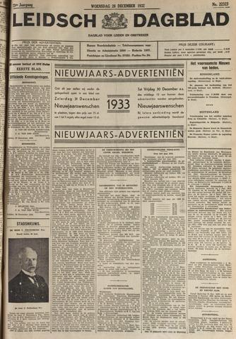 Leidsch Dagblad 1932-12-28