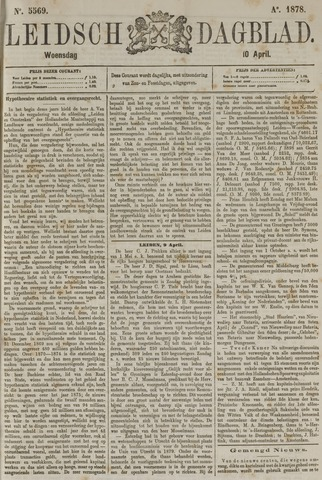Leidsch Dagblad 1878-04-10