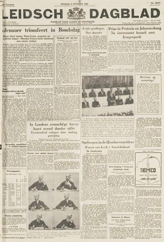 Leidsch Dagblad 1954-10-08