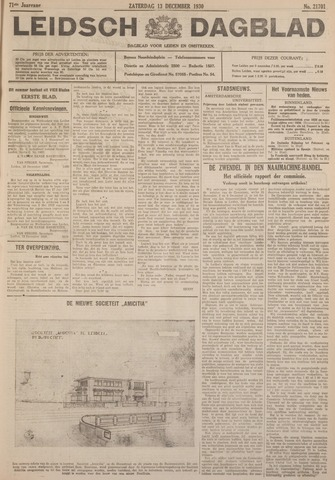 Leidsch Dagblad 1930-12-13