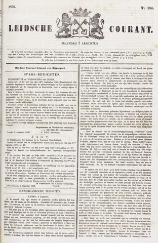 Leydse Courant 1876-08-07